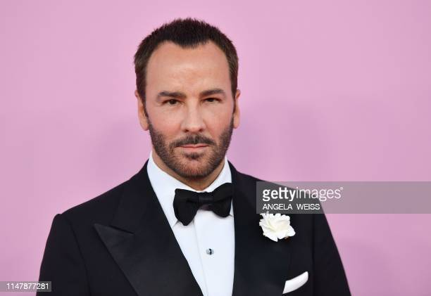 Fashion designer Tom Ford arrives for the 2019 CFDA fashion awards at the Brooklyn Museum in New York City on June 3, 2019.