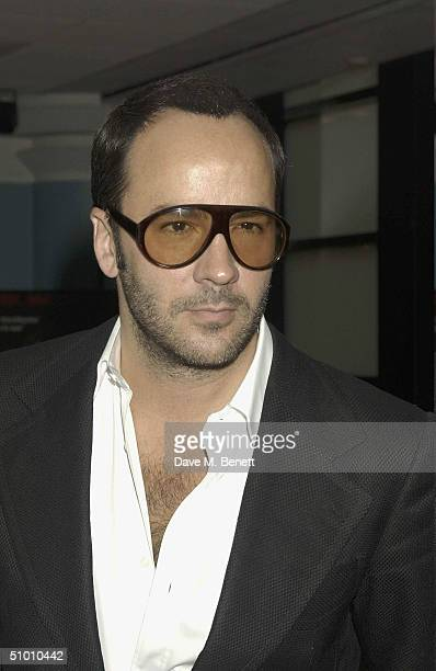 Fashion Designer Tom Ford at the charity premiere of Michael Moore's controversial new film 'Fahrenheit 9/11' on June 29, 2004 at Vue West End, in...
