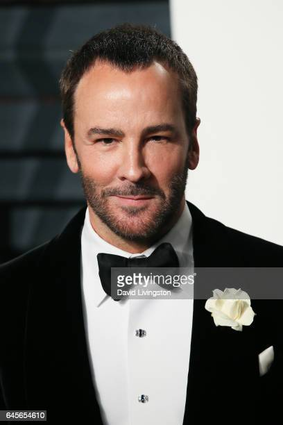 Fashion designer Tom Ford attends the 2017 Vanity Fair Oscar Party hosted by Graydon Carter at the Wallis Annenberg Center for the Performing Arts on...