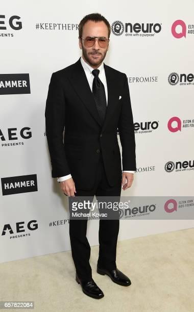 Fashion designer Tom Ford celebrates Elton John's 70th Birthday and 50Year Songwriting Partnership with Bernie Taupin benefiting the Elton John AIDS...