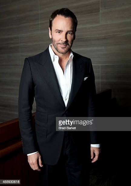 Fashion designer Tom Ford poses for a portrait during The Daily Front Row's second annual Fashion Media Awards at the Park Hyatt on September 5, 2014...