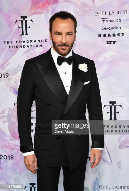 Fashion designer Tom Ford recepient of 2019 Fragrance Foundation's Hall of Fame award attends 2019 Fragrance Foundation Awards at David H Koch...