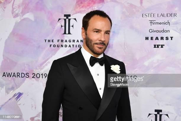Fashion designer Tom Ford, recepient of 2019 Fragrance Foundation's Hall of Fame award attends 2019 Fragrance Foundation Awards at David H. Koch...