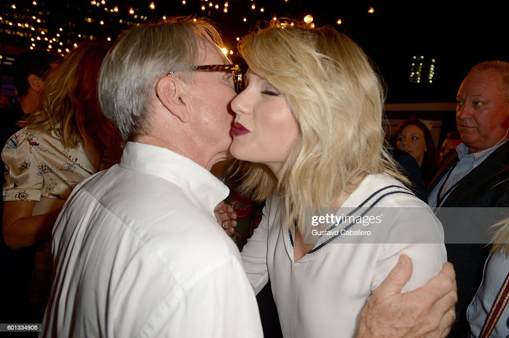 Fashion designer Tommy Hilfiger and Taylor Swift attend the #TOMMYNOW Women's Fashion Show during New York Fashion Week at Pier 16 on September 9, 2016 in New York City.