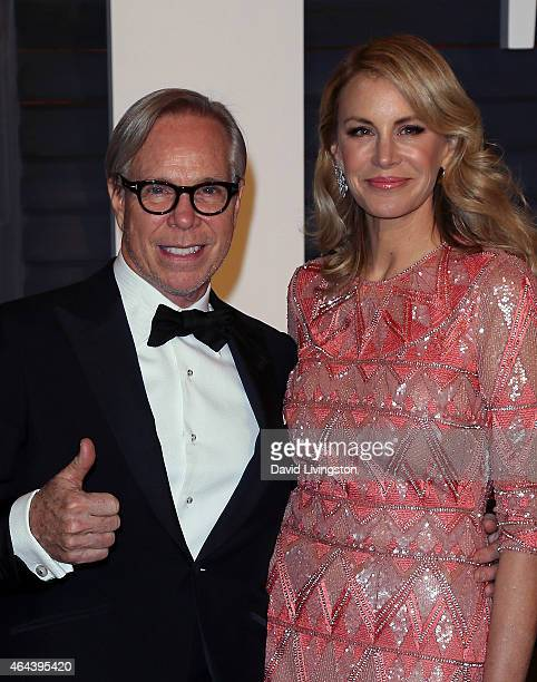 e0dc2e82 Fashion designer Tommy Hilfiger and wife Dee Ocleppo attend the 2015 Vanity  Fair Oscar Party hosted. Editorial use only