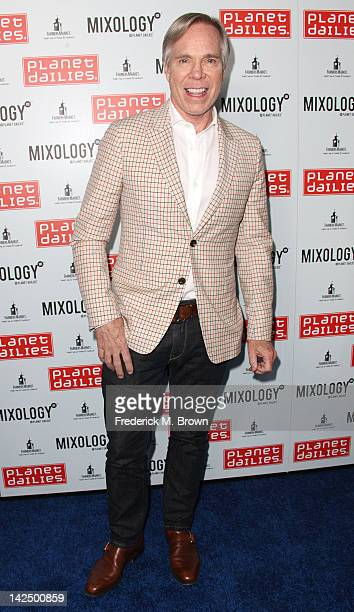 Fashion designer Tommy Hilfiger attends the Grand Opening of Robert Earl's Planet Dailies Mixology 101 at The Farmer's Market on April 5 2012 in Los...