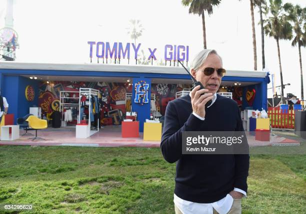 Fashion designer Tommy Hilfiger attends the TommyLand Tommy Hilfiger Spring 2017 Fashion Show on February 8 2017 in Venice California
