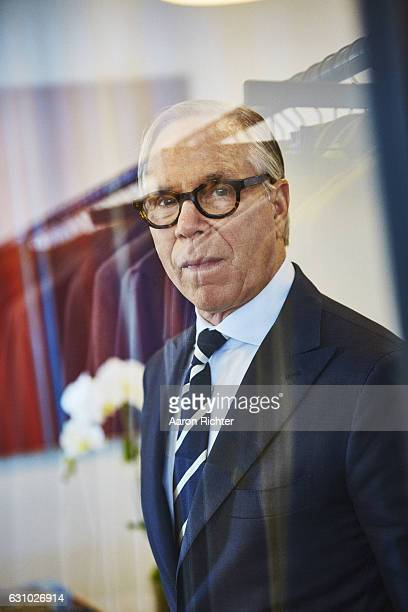 Fashion designer Tommy Hilfiger is photographed for Rhapsody Magazine on August 3 2016 in his showroom in New York City PUBLISHED IMAGE