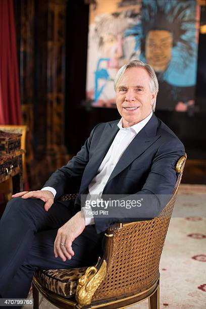 Fashion designer Tommy Hilfiger is photographed for USA Today on February 4, 2014 at home in New York City. PUBLISHED IMAGE.