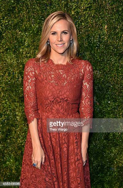Fashion designer Tory Burch attends the 11th annual CFDA/Vogue Fashion Fund Awards at Spring Studios on November 3, 2014 in New York City.