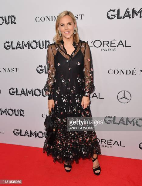 US fashion designer Tory Burch attends the 2019 Glamour Women Of The Year Awards at Alice Tully Hall Lincoln Center on November 11 2019 in New York...