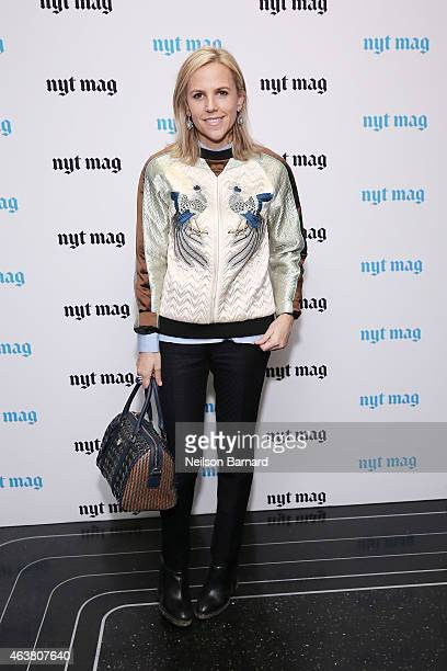 Fashion designer Tory Burch attends The New York Times Magazine Relaunch Event on February 18 2015 in New York City