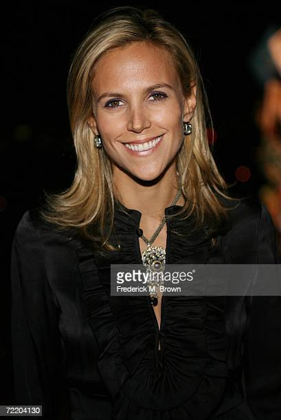 Fashion designer Tory Burch attends the Self Magazine and Tory Burch party celebrating Fashion Week at the Chateau Marmont Hotel on October 17, 2006...
