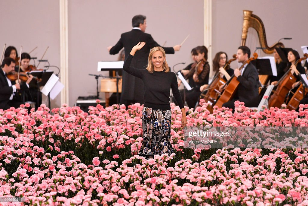 Fashion designer Tory Burch walks the runway during the Tory Burch Ready to Wear Fall/Winter 2018-2019 fashion show during New York Fashion Week at Bridge Market on February 9, 2018 in New York City.
