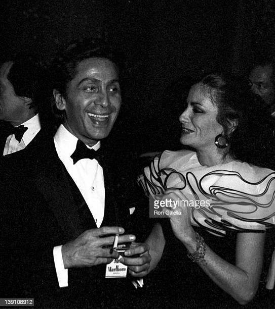 Fashion Designer Valentino attends Metropolitan Museum of Art Costume Institute Gala Exhibition The Manchu DragonCostumes of China on December 8 1980...