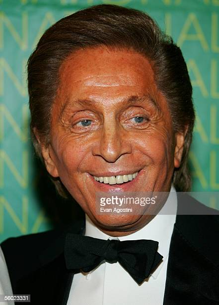 Fashion designer Valentino honored with the Superstar Award appears at Fashion Group International's 22nd Annual Night Of Stars at Cipriani's 42nd...