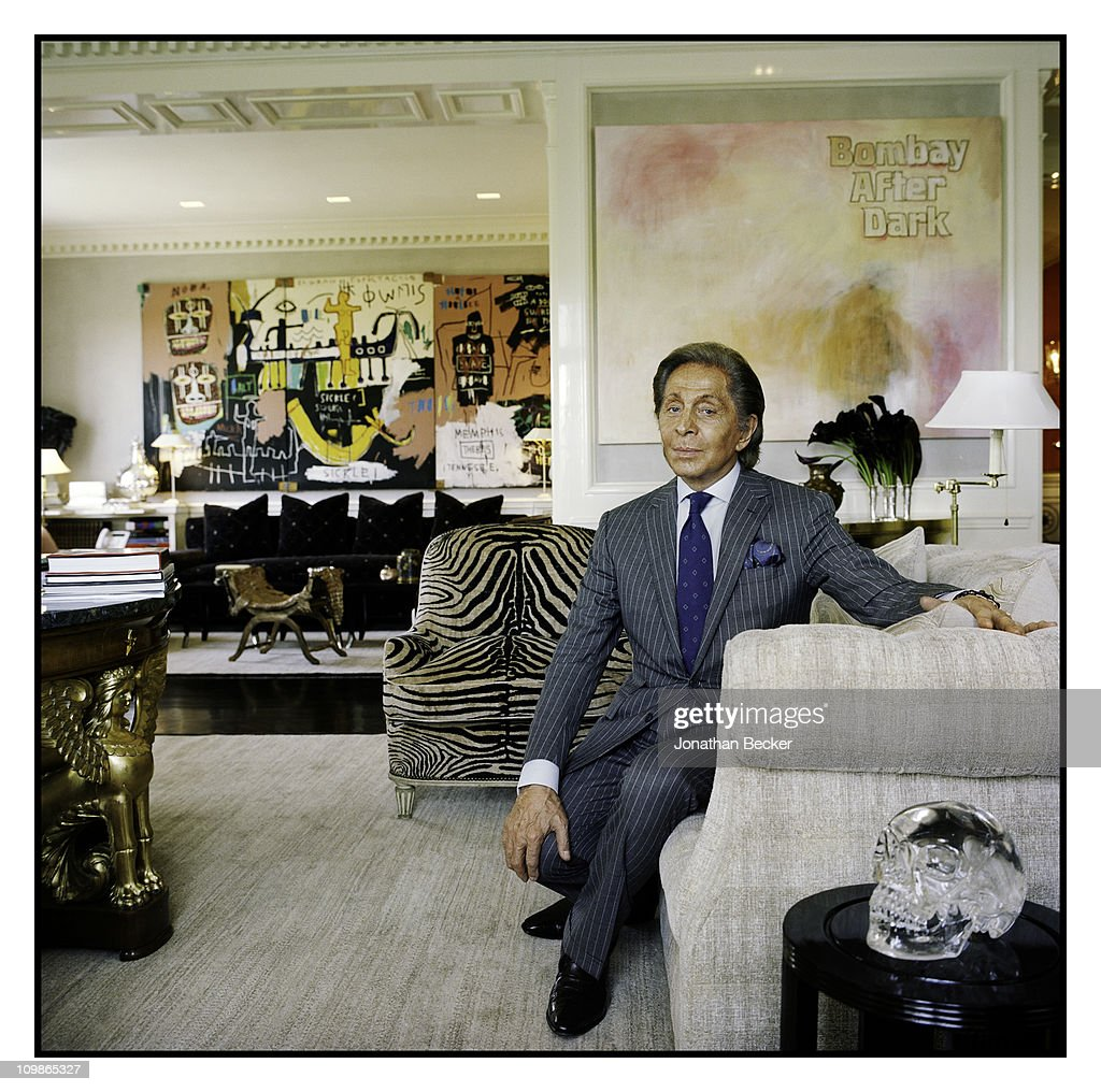 Valentino, Vanity Fair Magazine, August 1, 2010 : News Photo