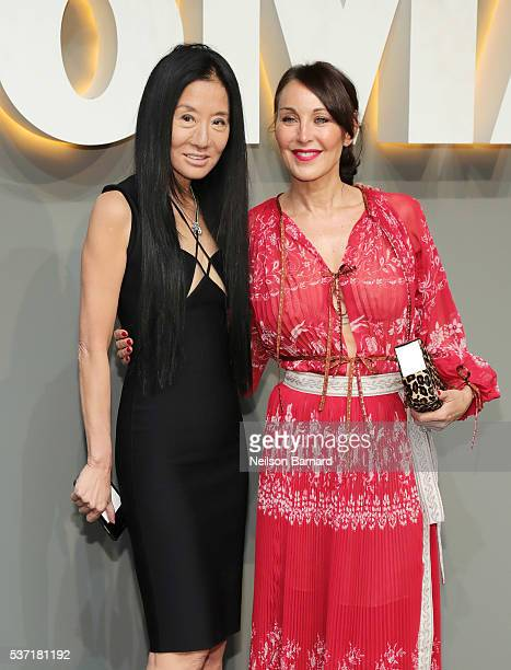 Fashion Designer Vera Wang And Tamara Mellon Attend The 2016 Museum Of Modern Art Party In