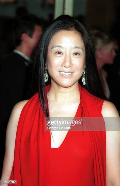 Fashion designer Vera Wang attends the CFDA American Fashion Awards 2000 at Avery Fisher Hall June 15, 2000 at Lincoln Center in New York City.