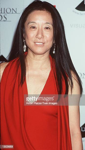 Fashion Designer Vera Wang attends the Council of Fashion Designers of America Awards held at Avery Fisher Hall June 15, 2000 in New York City.