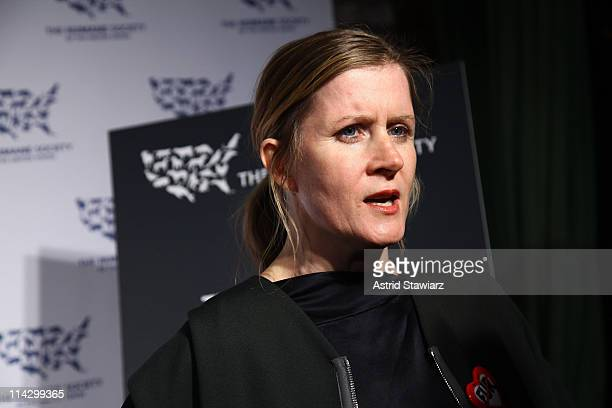 Fashion designer Victoria Bartlett attends The Humane Society of the United States & The Art Institute's Fifth Annual Cool vs. Cruel Awards Ceremomy...