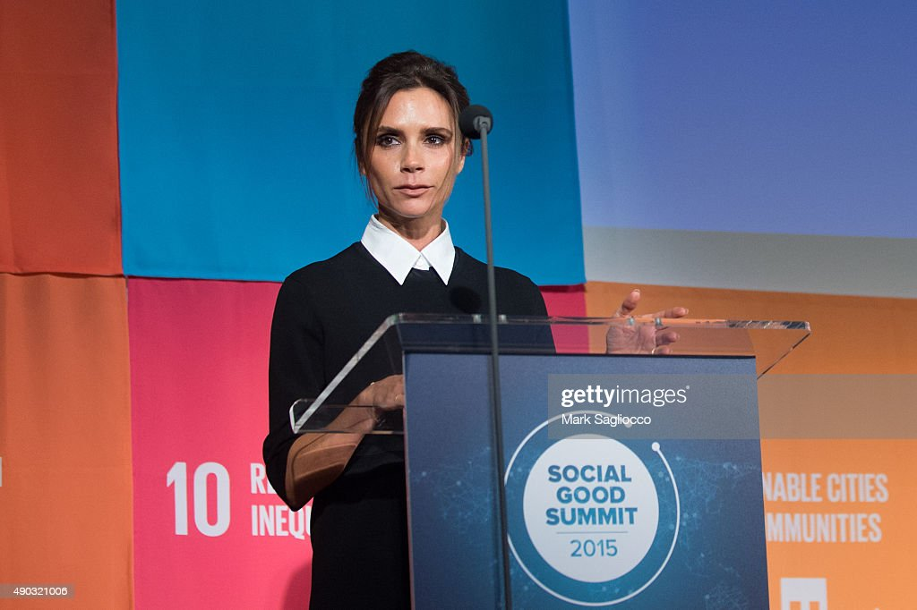 Social Good Summit : News Photo