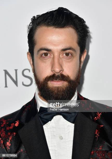 Fashion designer Viktor Luna attends the amfAR Gala at Ron Burkle's Green Acres Estate on October 13 2017 in Beverly Hills California