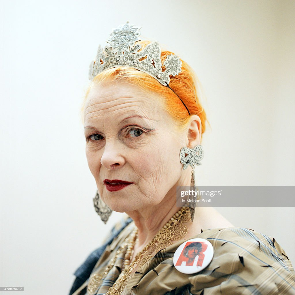Viv Westwood, Portrait shoot, March 13, 2012