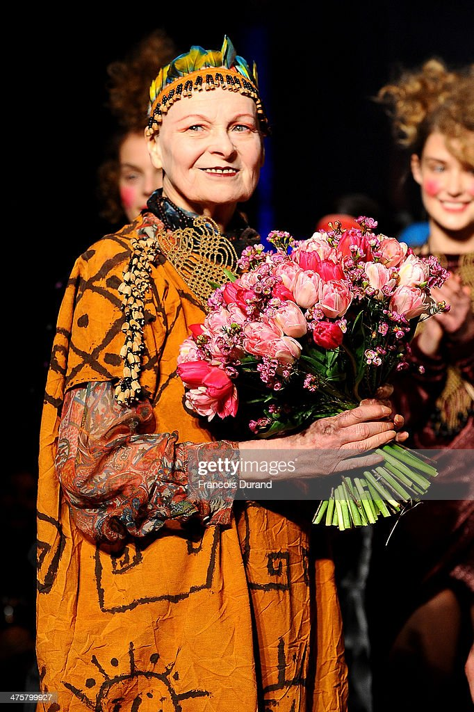 Vivienne Westwood : Runway - Paris Fashion Week Womenswear Fall/Winter 2014-2015
