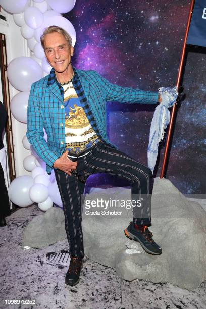 Fashion designer Wolfgang Joop during the PLACE TO B Berlinale party of BILD at Borchardt Restaurant on February 9 2019 in Berlin Germany