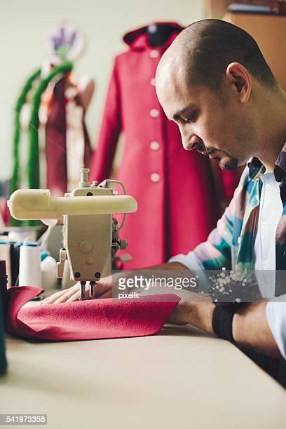 ファッションデザイナー動作