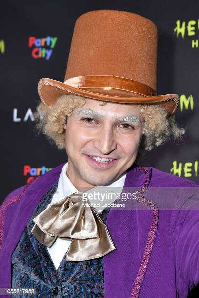 Fashion designer Zac Posen attends Heidi Klum's 19th Annual Halloween Party at Lavo on October 31 2018 in New York City