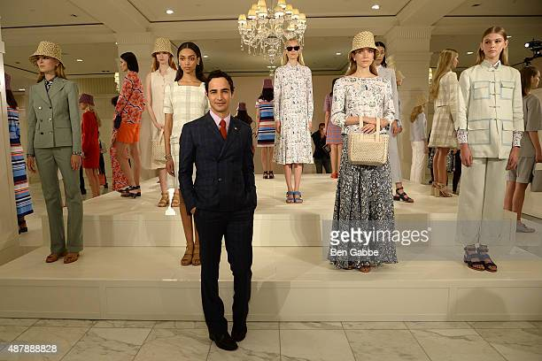 Fashion designer Zac Posen attends the Brooks Brothers Presentation during Spring 2016 New York Fashion Week on September 12, 2015 in New York City.