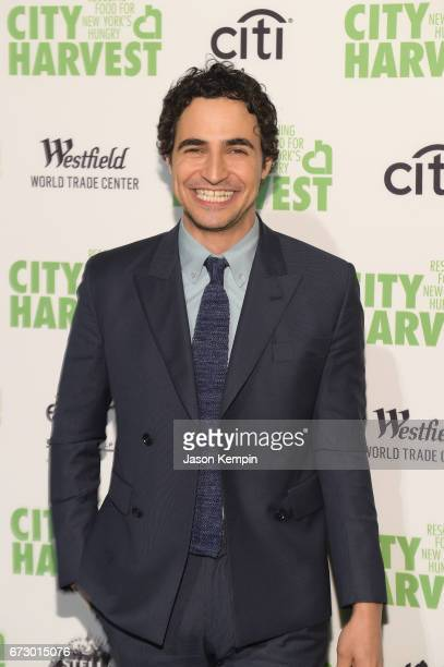 Fashion designer Zac Posen attends the City Harvest's 23rd Annual Evening Of Practical Magic at Cipriani 42nd Street on April 25 2017 in New York City