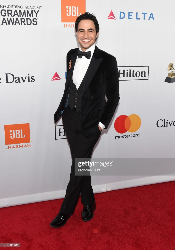 Fashion designer Zac Posen attends the Clive Davis and Recording Academy Pre-GRAMMY Gala and GRAMMY Salute to Industry Icons Honoring Jay-Z on January 27, 2018 in New York City.