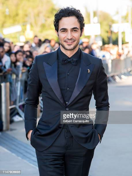 Fashion designer Zac Posen is seen arriving to the 2019 CFDA Fashion Awards on June 3 2019 in New York City