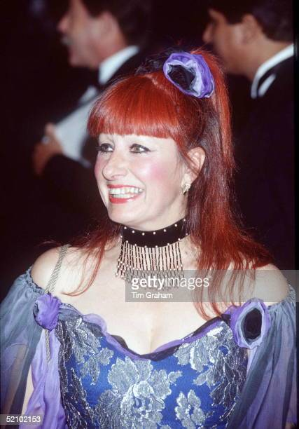 Fashion Designer Zandra Rhodes Who Has Designed Clothes For Various Members Of The Royal Familycirca 1990s