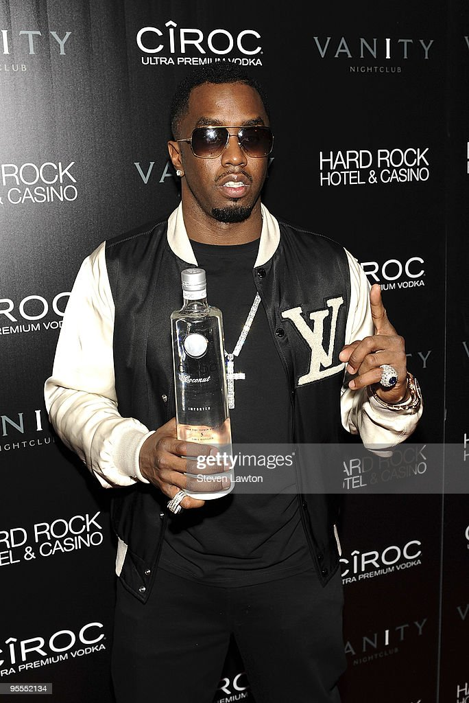 Fashion designer/recording artist Sean 'Diddy' Combs attends the grand opening of the Vanity nightclub hosted by Sean Diddy Combs at the Hard Rock Hotel and Casino on January 2, 2010 in Las Vegas, Nevada.