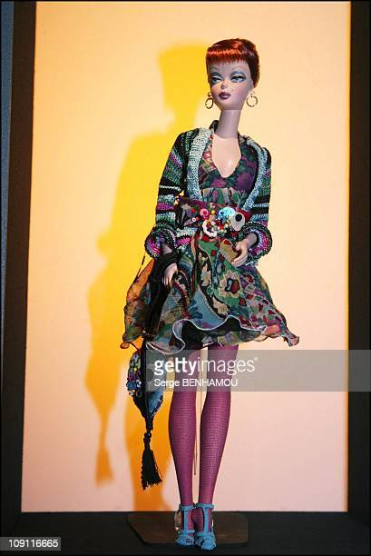 Fashion Designers Celebrate Barbie'S 45Th Birthday In Paris On March 9 2004 In Paris France Barbie By Lacroix Barbie'S 45Th Birthday Fashion Show To...