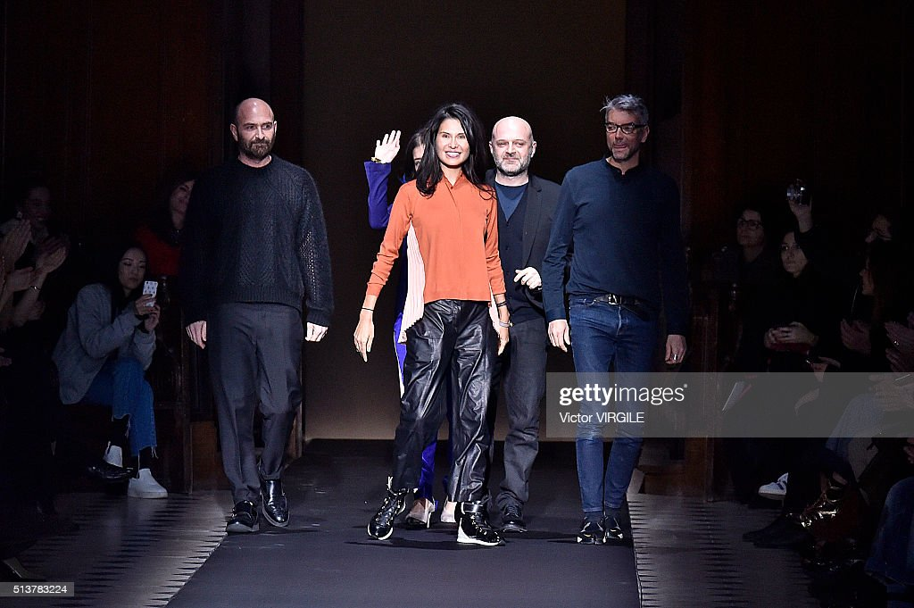 Fashion Designers Hussein Chalayan And Goga Ashkenazi Walk The Runway News Photo Getty Images
