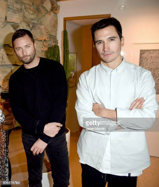 Fashion designers Jack McCollough and Lazaro Hernandez attend Vanity Fair and Fashion Designers Jack McCollough and Lazaro Hernandez Celebrate the...