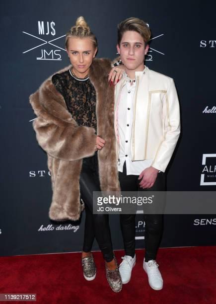 Fashion designers Matt Sarafa and Jonathan Marc Stein attend Matt Sarafa and Jonathan Marc Stein's new 'Rich' clothing line release and fashion show...