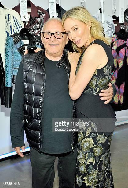 Fashion designers Max Azria and Lubov Azria attend BCBGMAXAZRIA 25th Anniversary Retrospective Celebration at BCBG Max Azria Group LLC Corporate...