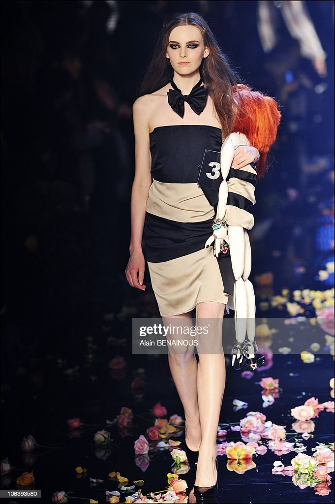 Sonia Rykiel celebrates her 40 years of fashion in Paris Fashion Week Spring - Summer 2009 in Paris, France on October 01st , 2008. : News Photo