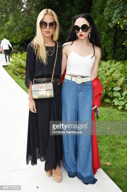 Fashion designers Rachel Zoe and Stacey Bendet attend as the Honest Company and The GREAT celebrate The GREAT Adventure on August 5 2017 in East...