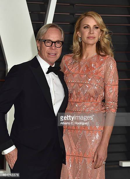 d2a9596b Fashion designers Tommy Hilfiger and Dee Ocleppo attend the 2015 Vanity  Fair Oscar Party hosted by. Editorial use only