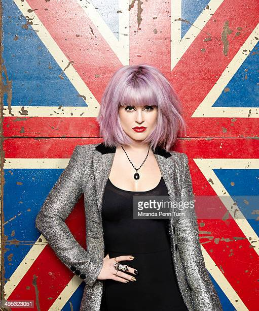 Fashion designer/TV host Kelly Osbourne is photographed for You Magazine on January 15 2014 in Los Angeles California COVER IMAGE