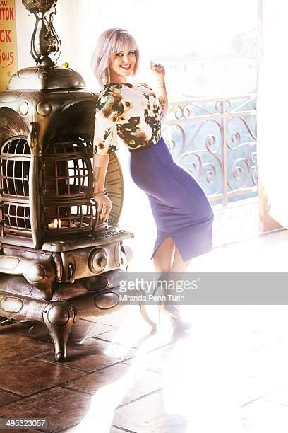 Fashion designer/TV host Kelly Osbourne is photographed for You Magazine on January 15 2014 in Los Angeles California PUBLISHED IMAGE