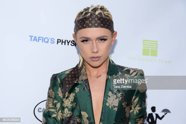 Fashion designer/tv personality Matt Sarafa attends West Hollywood Lifestyle Magazines celebration of their spring 2018 issue on April 5 2018 in West...