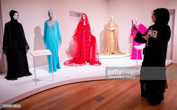 Fashion designs, including a design by Dolce & Gabbana , that was worn by Saudi businesswoman Princess Deena Aljuhani Abdulaziz and a design by...